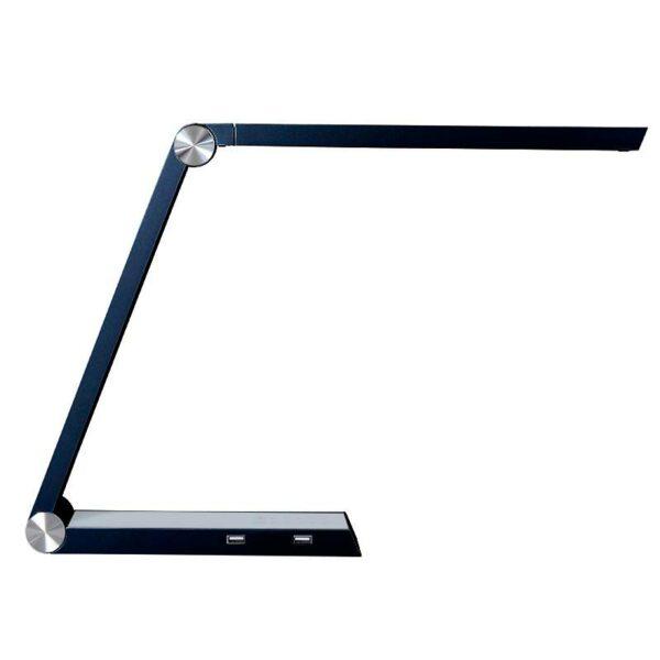 Lámpara de estudio Negro TRIANGLE  con Cargador Inalámbrico TI