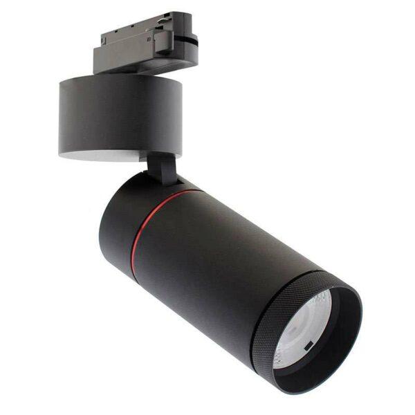 Foco LED DOMO para carril Monofásico