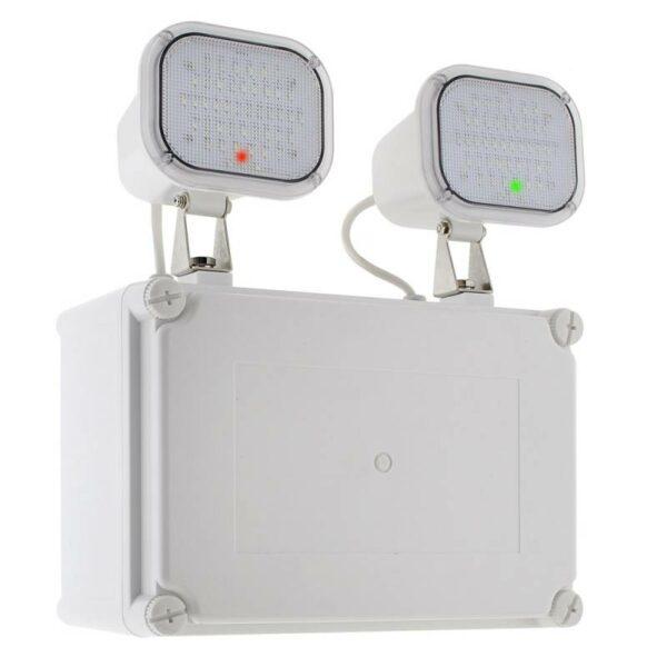Luz de emergencia LED KROLUX Estanca IP65