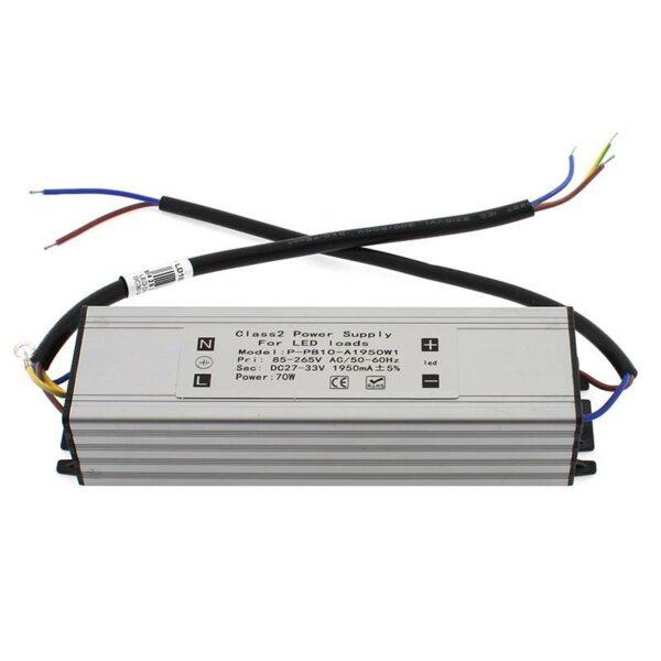 LED Driver DC27-33V/70W/1950mA