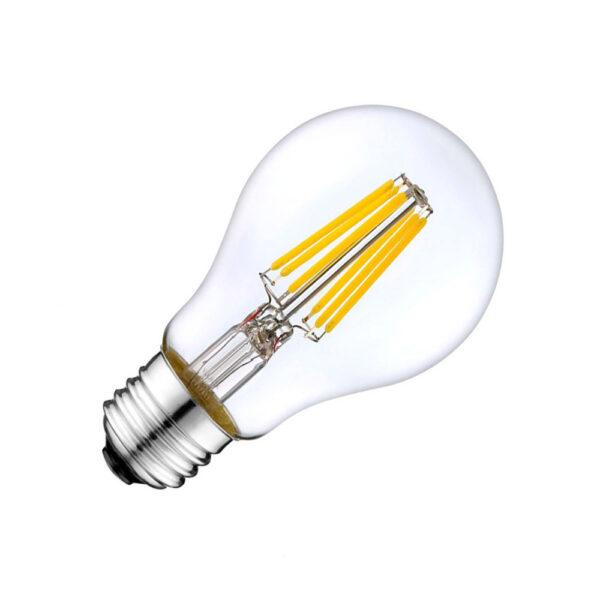 Bombilla LED E27 COB filamento 8W