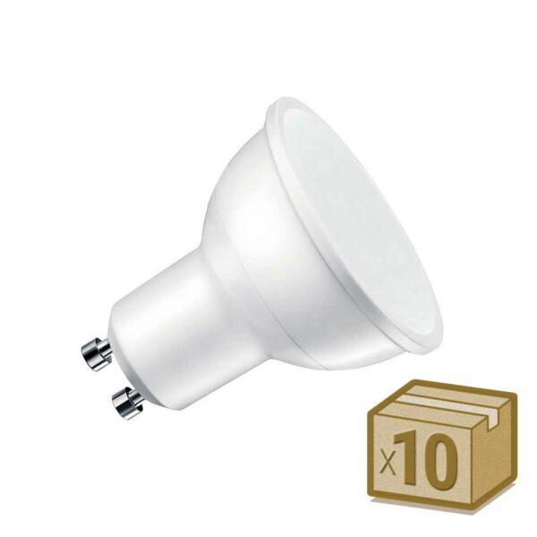 Pack 10 x Bombilla LED GU10