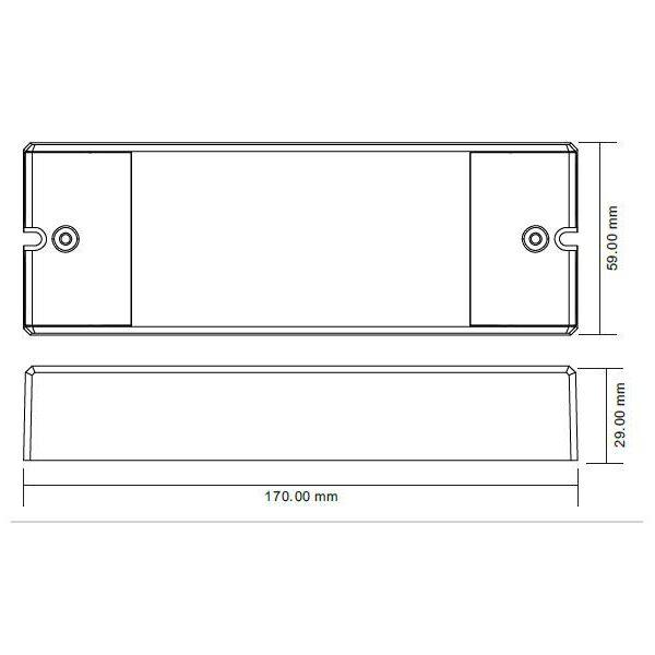 Controlador Master/Decoder LB2102HT DMX512-AC
