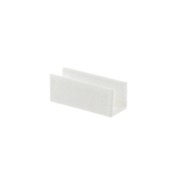 Clip PVC blanco Led NEON 3mm