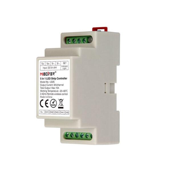 Controlador 5 en 1 carril DIN (MONO