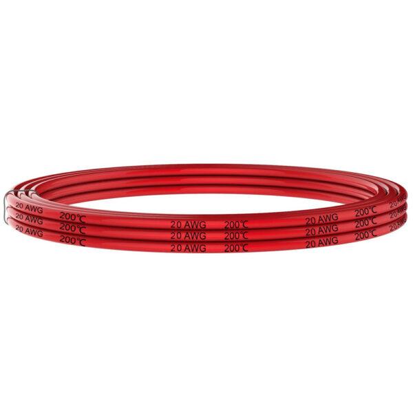 Cable anticalórico silicona 1x0