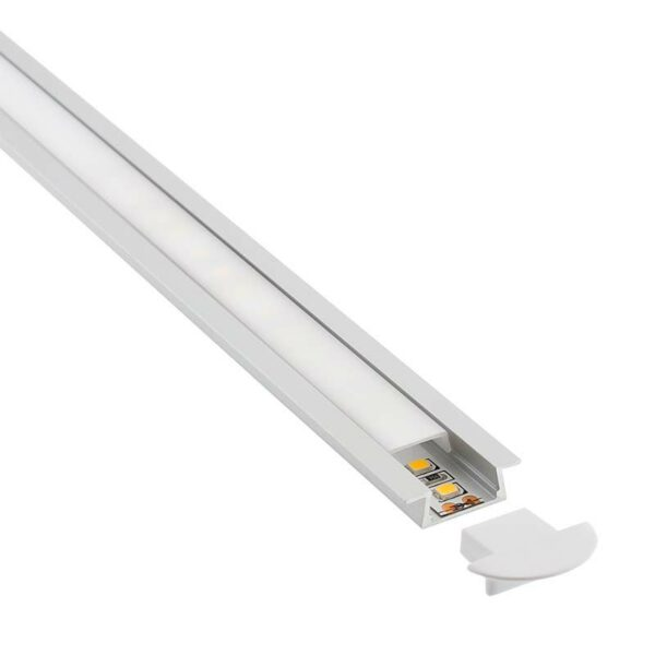 KIT - Perfil aluminio KOBE para tiras LED