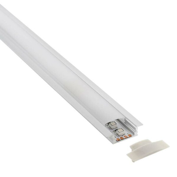 KIT - Perfil aluminio KOBE PRESS para tiras LED