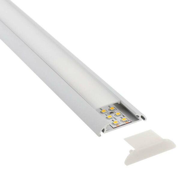 KIT - Perfil aluminio MARK para tiras LED