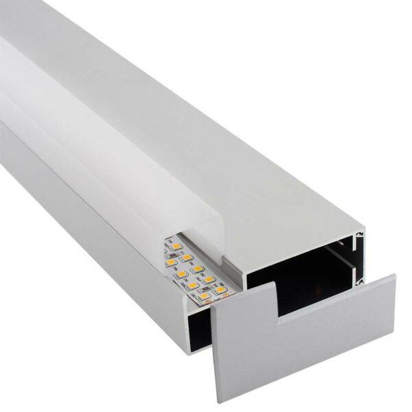 KIT - Perfil aluminio LOIN para tiras LED