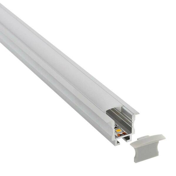 KIT - Perfil aluminio TEITO MINI para tiras LED
