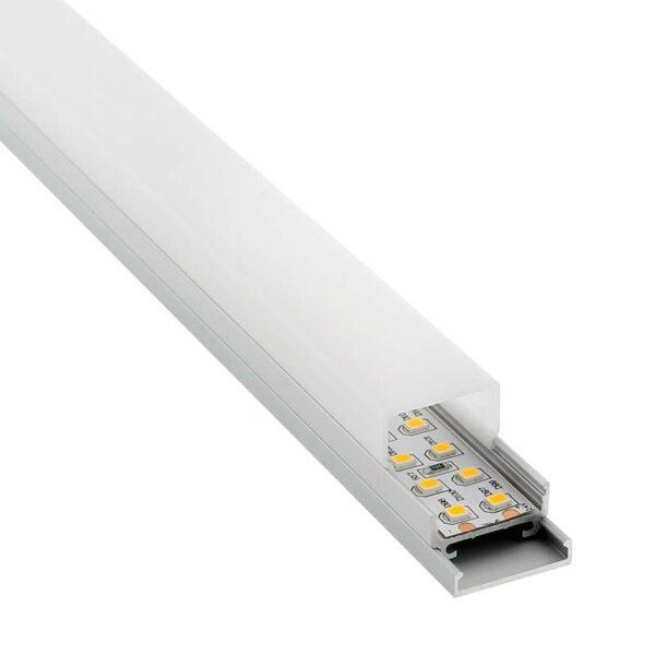 Perfil aluminio ALKAL para tiras LED