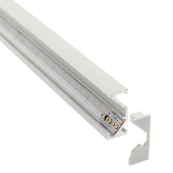 Perfil aluminio WARE para tiras LED