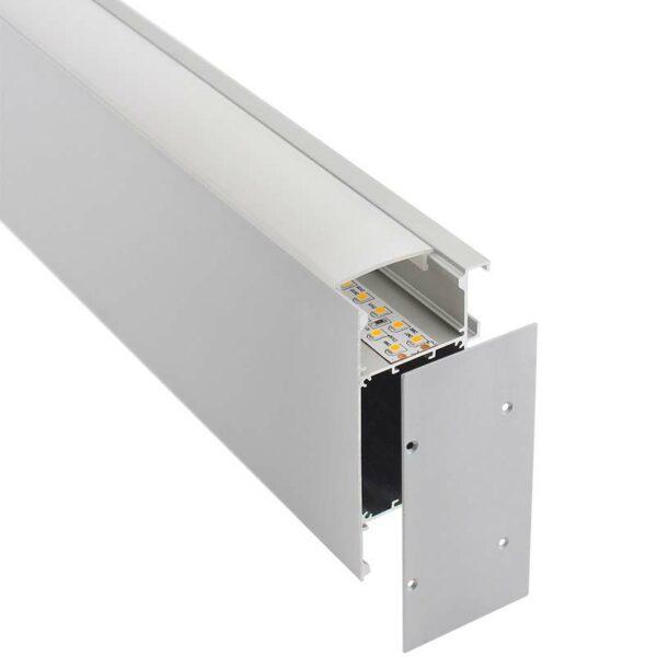 KIT - Perfil aluminio NewWALL para tiras LED