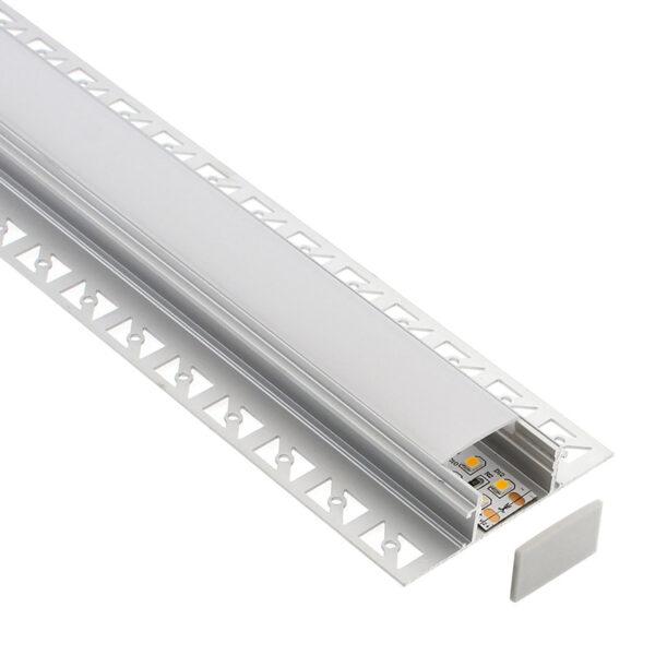 KIT Perfil arquitectónico aluminio BILD 1 metro