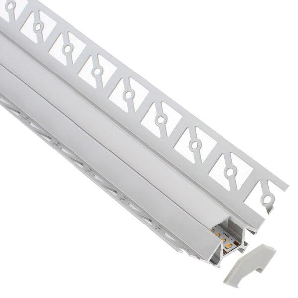 KIT Perfil arquitectónico aluminio LING 1 metro
