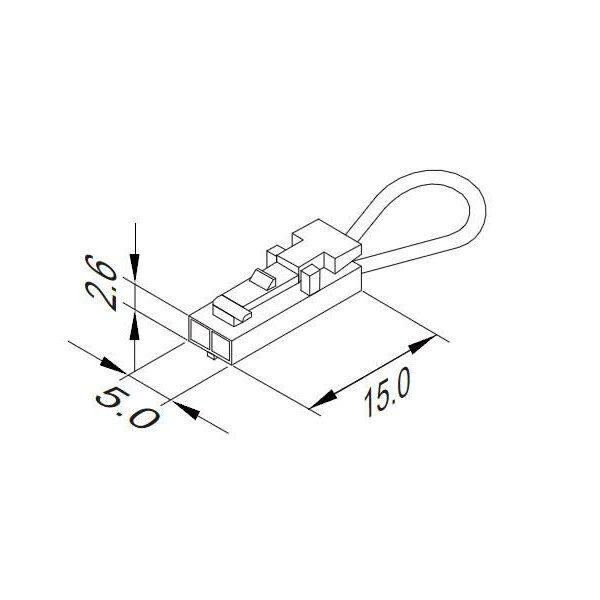 Cable circuito cerrado serie DuPont