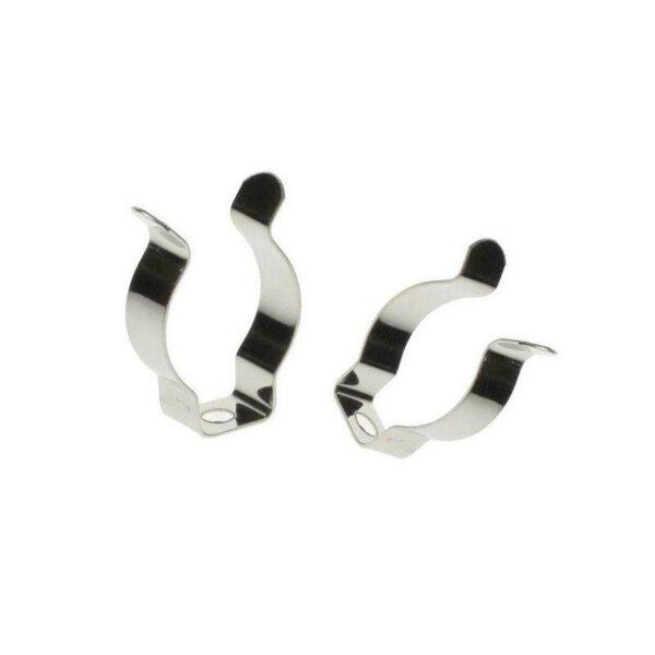 Set 2x Clip metálico para tubos T8