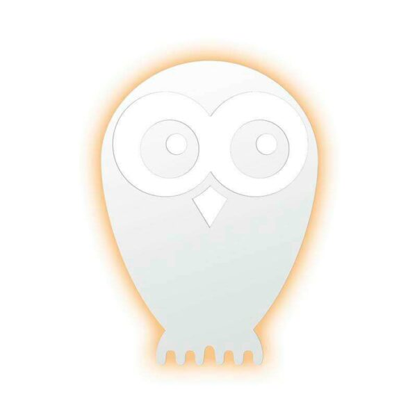 OWL Led Lamp blanco