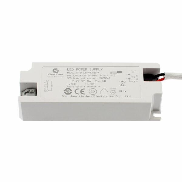 LED Driver DC25-40V/35W/850mA