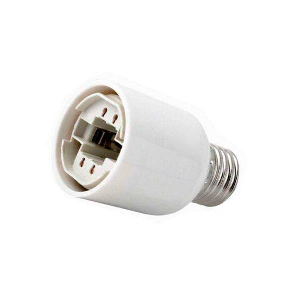 Adaptador / conversor para bombillas G24 a  E27