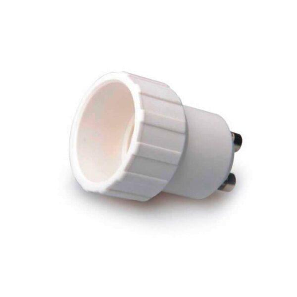 Adaptador / conversor para bombillas E14 a GU10