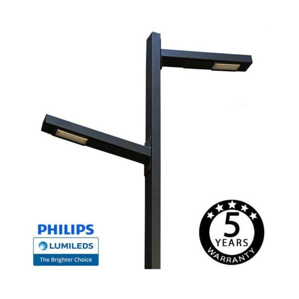 Farola LED LEN 100W  Chipled Philips Lumileds
