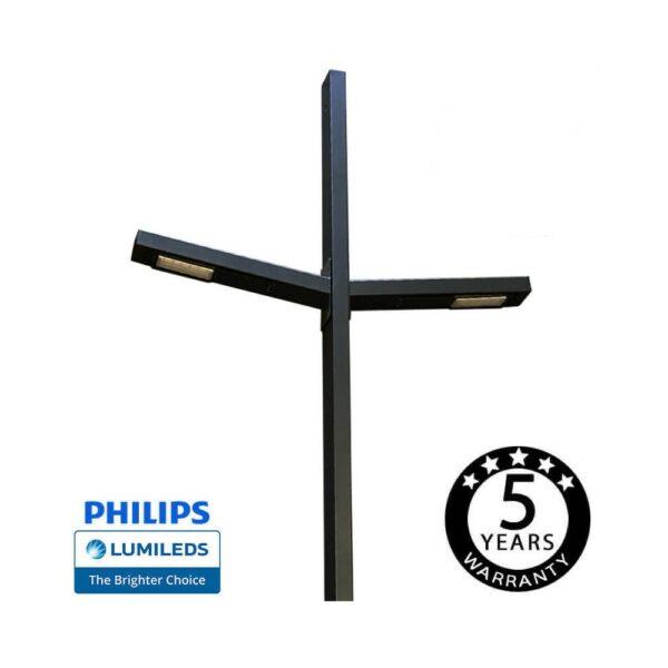 Farola LED BLAD 100W  Chipled Philips Lumileds