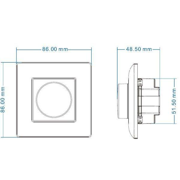 Regulador Dimmer LED 0-10V