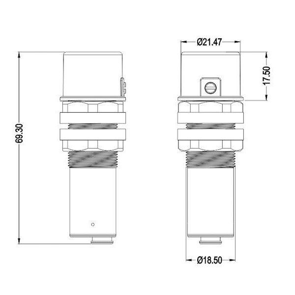 Sensor crepuscular Merrytek MS01