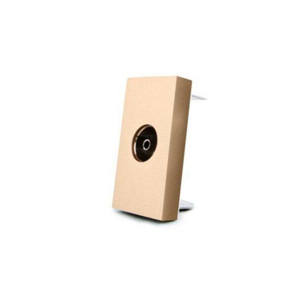 Conector TV golden para mecanismo de empotrar