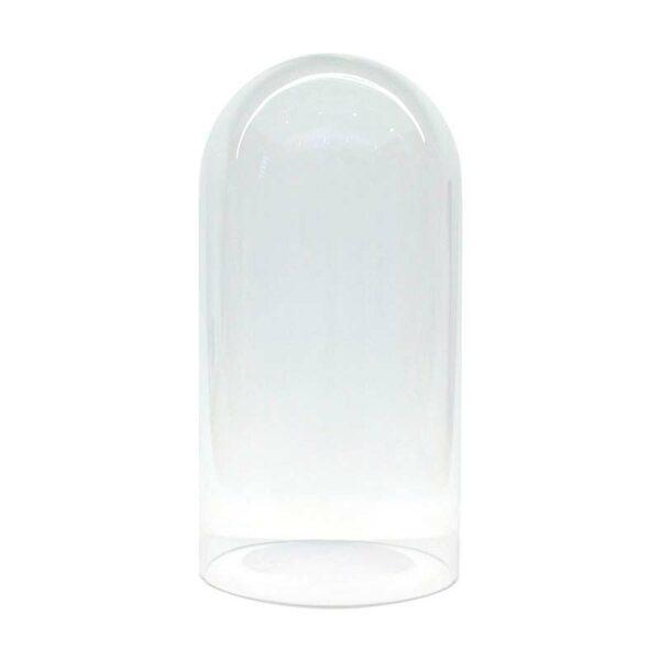 Fanal de cristal Ø14 altura 27cm