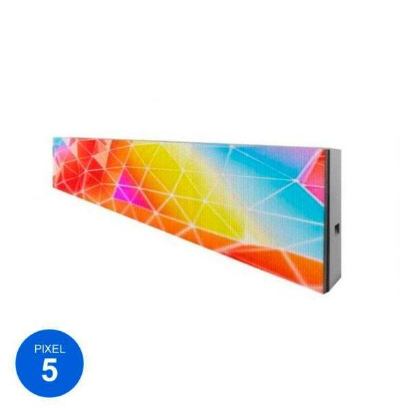 2 Unidades Rótulo LED Modular RGB Pixel 5