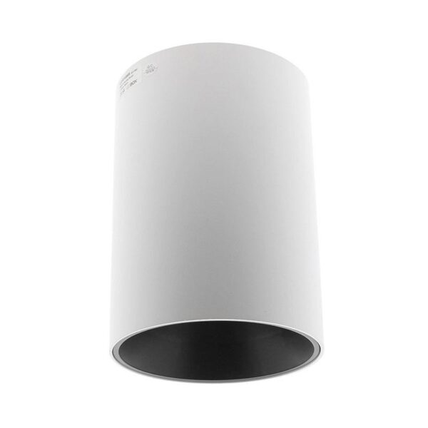 Lámpara de techo blanca PROLUX Suspend Housing Round Ø135