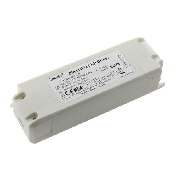 Driver SERK DC30-42/40W/900mA TRIAC regulable