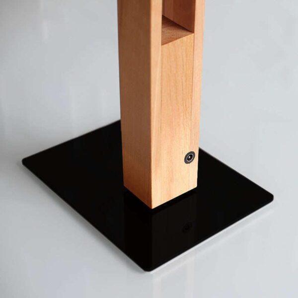 Lámpara Led de madera CARFI 130