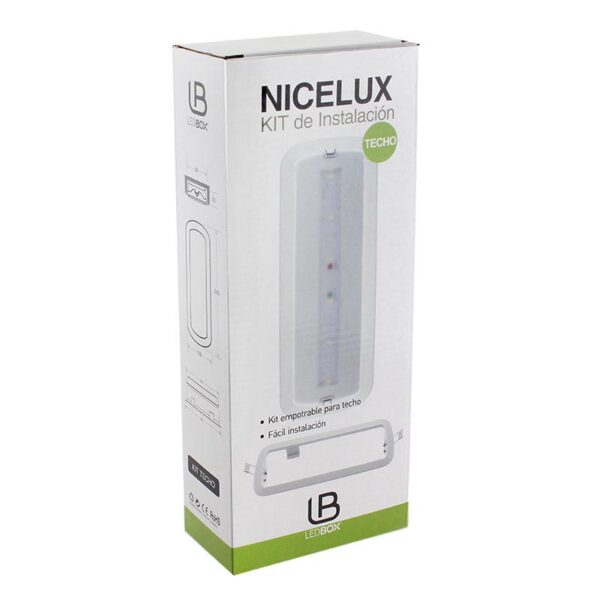 Kit montaje LED NICELUX empotrable techo