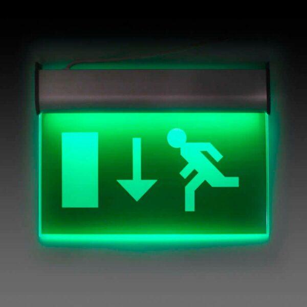 Luz LED de emergencia permanente SIGNALED EXIT