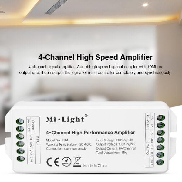 Amplificador 4 canales