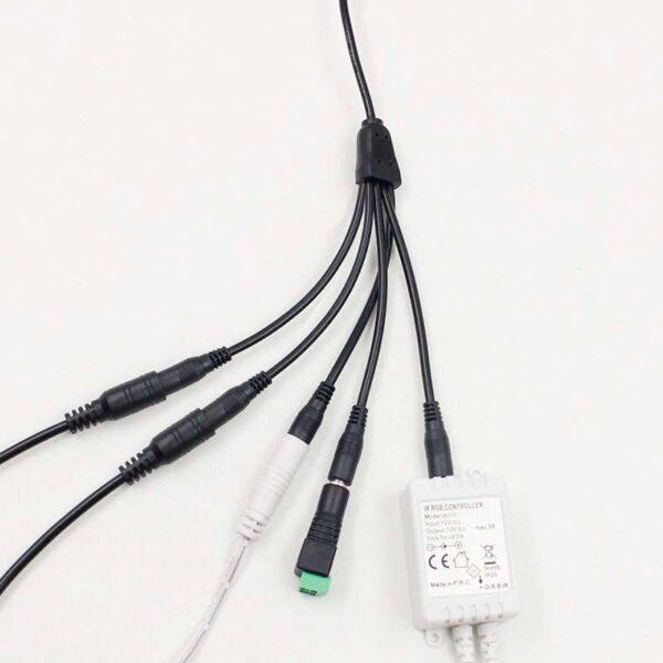 Cable conexión Jack Hembra a 5xJack Macho
