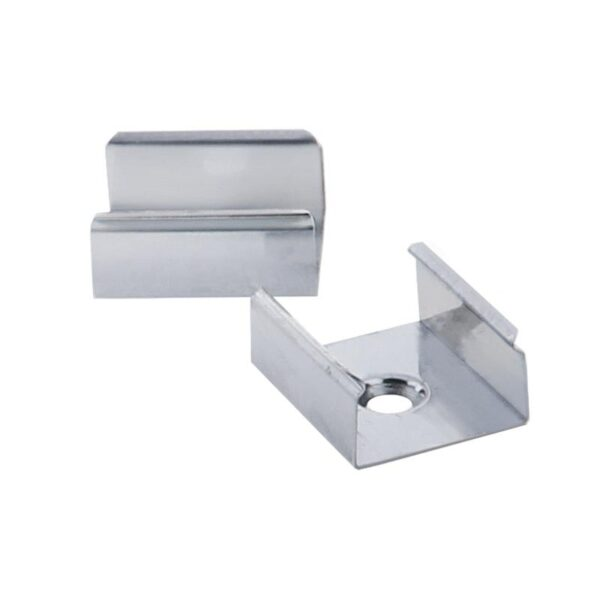 Clip montaje para perfil de aluminio