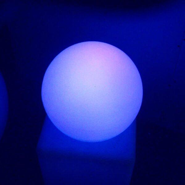Esfera luminosa led 40cm RGBW recargable