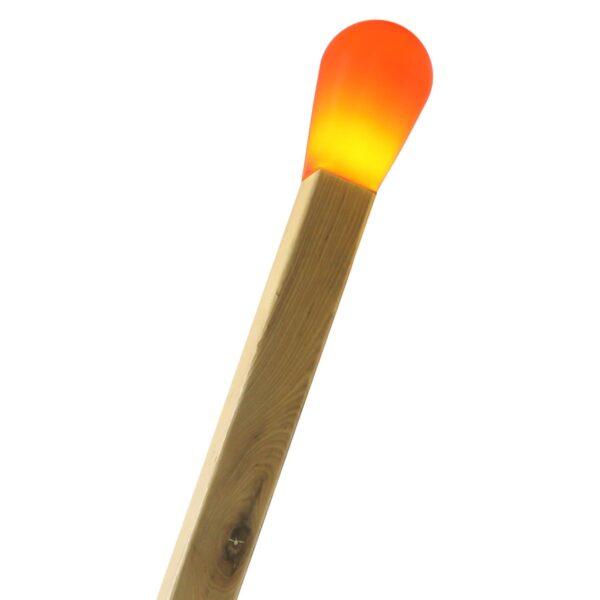 Cabeza CERILLA Rojo para lámpara de pie