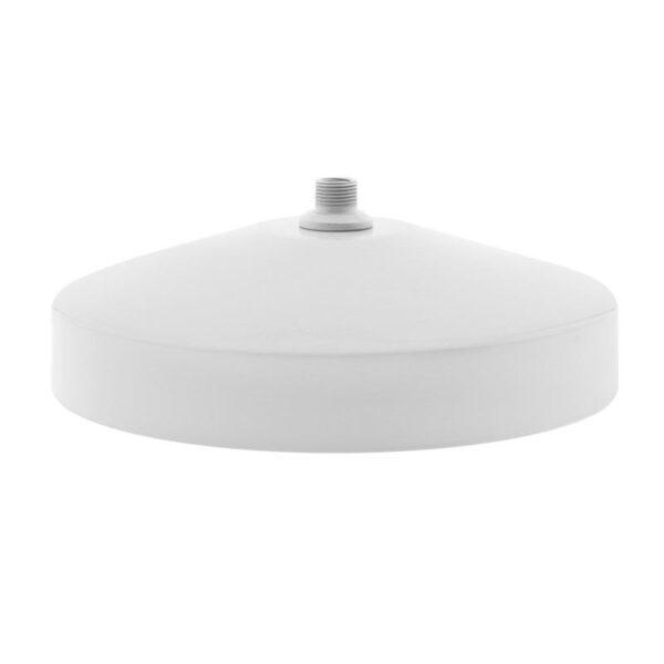 BASE Baround pie Acero Lacado Blanco Ø225mm