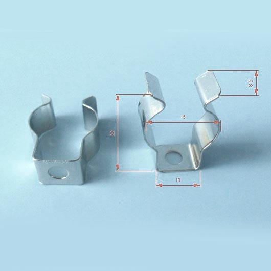 Set 2x Clip metálico T5