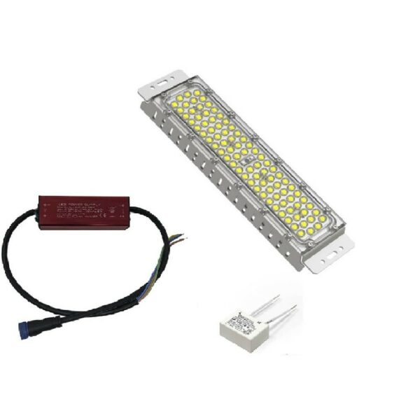 Farola Villa LED Aluminio 100W Chipled Philips Lumileds